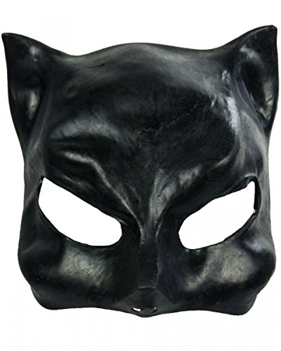 Halloween Karneval Party Kostüm Catwoman Latex Halbmaske für -
