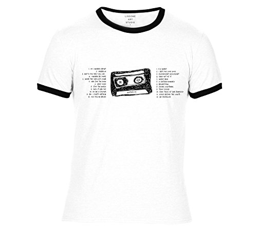Mixtape T-Shirt ARCTIC MONKEYS by Lissome Art Studio