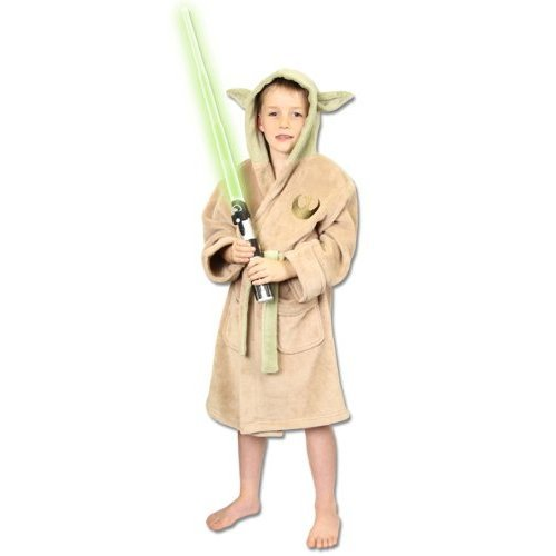 Groovy UK Kinder-Bademantel im Yoda-Design, Star Wars
