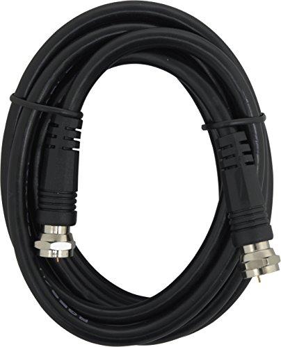 GE 23217Video Kabel funkybuys RG59Koax mit F-Stecker jedem Ende, schwarz -