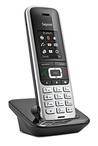 Gigaset S850H Telefon / Schnurlostelefon / Universal Mobilteil - mit Farbdisplay - Dect-Telefon / schnurloses Telefon - Freisprechen / Router - platin