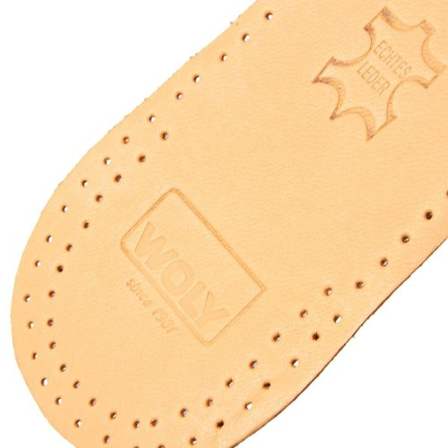 Woly - Woly Comfort Leather Insole, Modelli unisex Grau