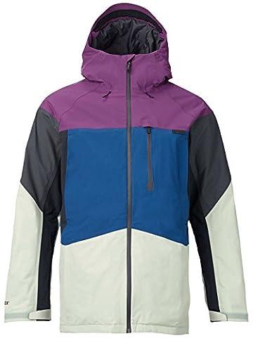 Burton MB Radial Jacket Veste de snowboard XS double cup block