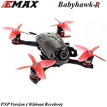 Mini Drone EMAX Babyhawk-R FPV Racing RC Drone (112mm F3 Magnum Mini 5.8G FPV Racing RC Drone 3S/4S PNP) for Adults
