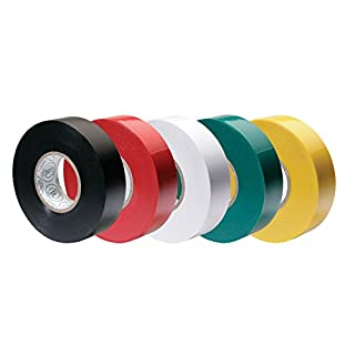 Ancor Premium Assorted Electrical Tape - 1/2