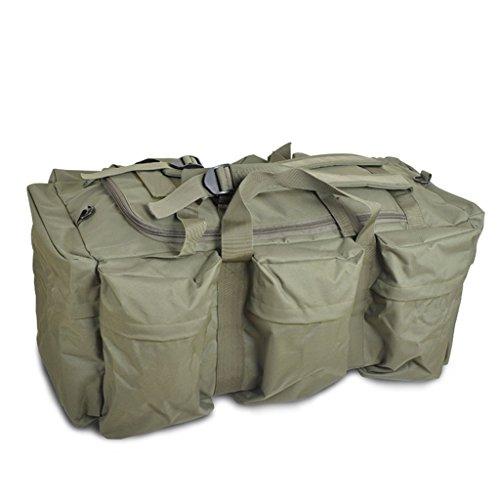 AMOS Borsa portatile di spalla portatile di grande capacità all'aperto uomini e donne Borsa del sacchetto di spalla borsa di viaggio del sacchetto di viaggio Sacchetto di viaggio zaino ( Colore : CP c Army green