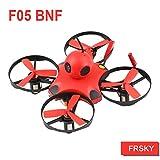 MakerStack BNF Micro FPV II Quad 90mm Racing Drone con Receptor FrSky F3 Controlador de Vuelo Cepillado