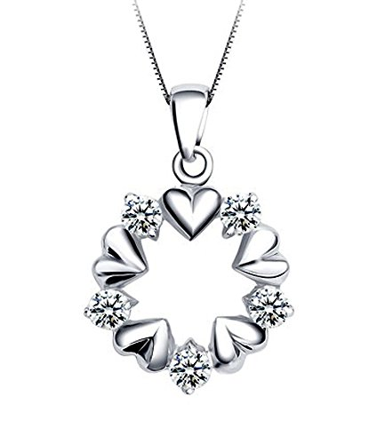 heart-pendant-necklaces-sterling-silver-cubic-zirconia-diamond-garland-charm-jewelry-for-women