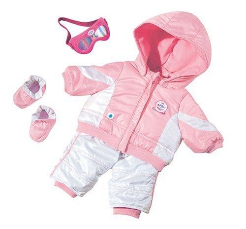 Zapf 800386 - Baby Born  Snowboard Outfit de Luxe Set