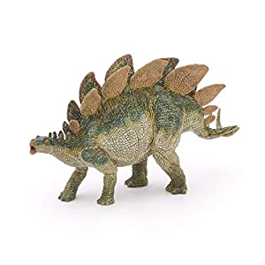 Esemebe- Figura Dinosaurio Stegosaurus 22X4X12CM, (Papo 2055007)
