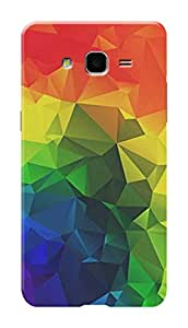 Samsung Galaxy On7 Pro Black Hard Printed Case Cover by Hachi - Colors Design