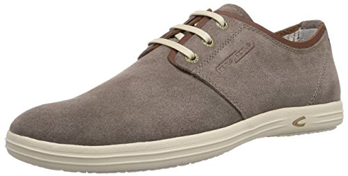camel active Herren Pier 40 Low-Top, Grau (Taupe 02), 46 EU