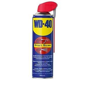 Bombe aérosol multi usage avec tube fixe 450 ml WD40 Company Smart StrawTM 41037