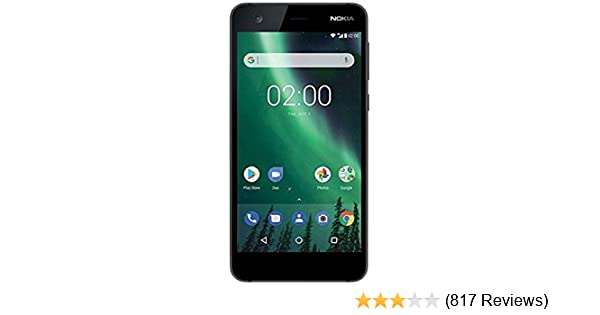 b1ca2482 Nokia 2 (Pewter/Black, 1GB RAM, 8GB Storage): Amazon.in: Electronics