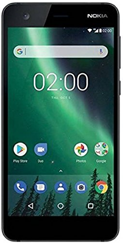 Nokia 2 (Pewter/Black, 1GB RAM, 8GB Storage)