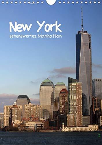 New York - sehenswertes Manhattan bei Tag und Nacht (Wandkalender 2020 DIN A4 hoch): Kurztrip durch die atemberaubenden Straßen im Herzstück einer ... (Monatskalender, 14 Seiten ) (CALVENDO Orte)
