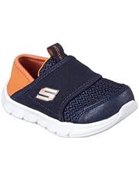 Skechers 998121 NVLM Navy Lime Blu Scarpe Bambino Elastico Strappi · EUR  24 a8dfe572d86