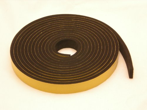"Rubber-Neoprene sponge pad//mat//sheet//strip 1//2""54/""x72 self-adhesive closed cell"