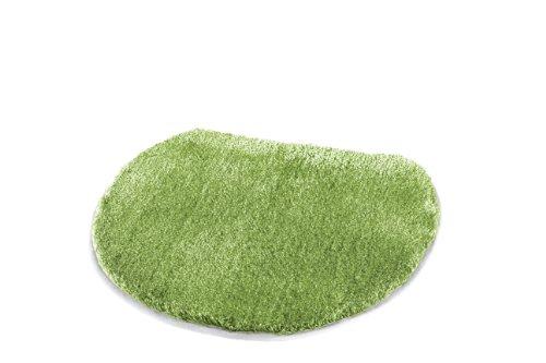 Kleine wolke 8888615104 - copri tavoletta wc soffice, 47 x 50 cm, colore: verde kiwi