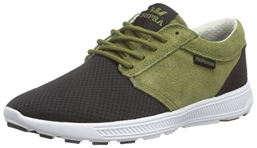 Supra Unisex-Erwachsene Hammer Run Low-Top Grün (OLIVE / BLACK - WHITE OLB)
