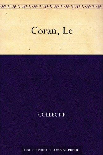 Couverture du livre Coran, Le
