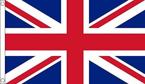 Flag Wholesaler Union Jack Uk Flagge, Mehrfarbig, Large