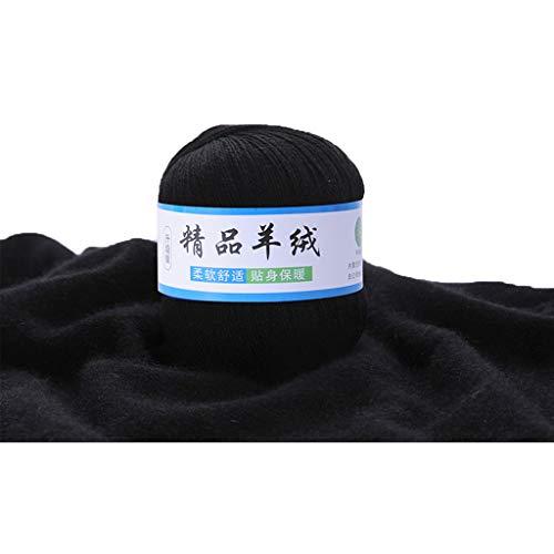 VIccoo Kaschmirgarn, Weiche Kaschmir Strickwolle Garn DIY Baby Warm Schal Schal Hut Häkeln Faden Zubehör - 6# -