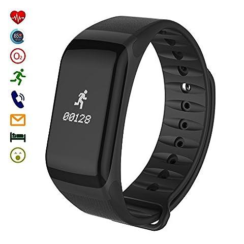 Smart Fitness Tracker, LaTEC Smart Bracelet Sports, Bracelet avec Podomètre,