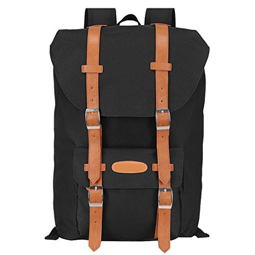 Bagelry Unisex Beiläufig Rucksäcke Taschen Laptop Rucksack für Reise Wandern Schule Backpack (Neue Tasche Louis Vuitton)