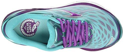 Brooks Transcend 3, Chaussures de Running Entrainement Femme Multicolore (ArubaBlue/Byzantium/Silver)
