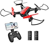 Holy Stone HS370 Mini Drohne mit Kamera HD für Kinder, Quadrocopter mit Kamera 720P FPV WiFi, Live Video, 2 Akkus, 3 Geschwindigkeitsmodi usw, Ideal für Kinder und Anfänger