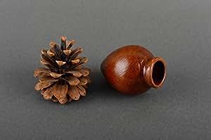 Pichet en céramique ton vaisselle main écologique harnais pour vin quevri original