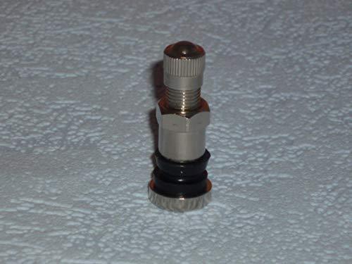 Surepromise Lot de 4/valves en acier pour jantes en aluminium 11,3/mm Argent/é