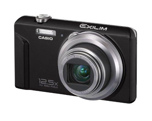 Casio Exilim EX-ZS100 Digitalkamera (14 Megapixel, 12,5-fach opt. Zoom, 6,9 cm (2,7 Zoll) Display, bildstabilisiert) schwarz