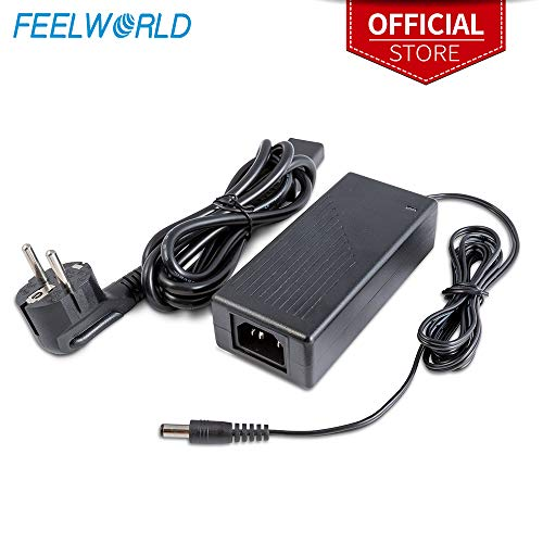 Feelworld DC 12V 3A Switching Power Supply Home Power Adapter für 100V-240V AC 50/60Hz für Feelworld FW279 FW279S - Nur für europäische Norm -
