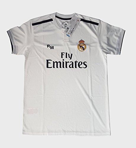 Real Madrid FC Camiseta Adulto Replica Oficial Primera Equipación 2018/2019 (XXL)