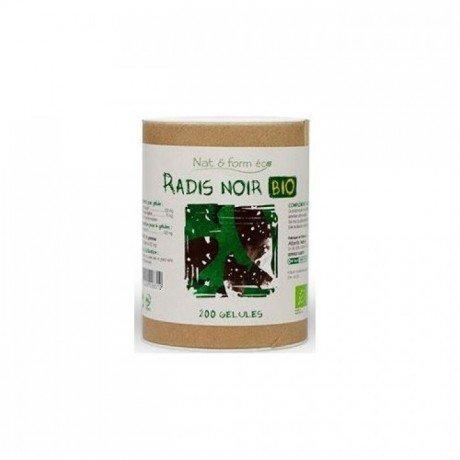 Nat&form Ecoresponsable Radis Noir Bio 200 Gelules