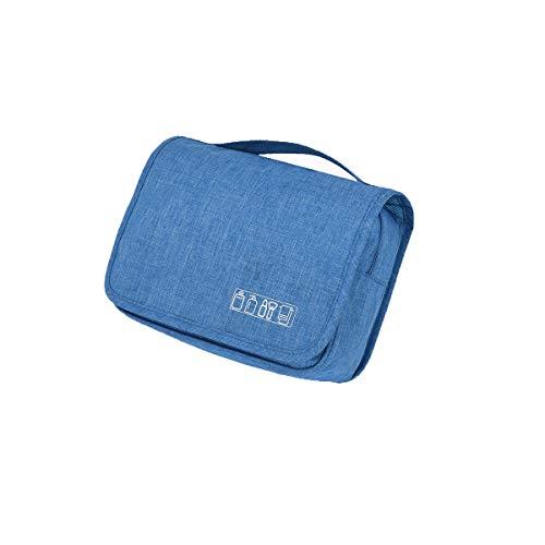 8haowenju accroché trousse de toilette pour hommes et femmes - organisateur de voyage de toilette, haute qualité, dernier style (Color : Blue)