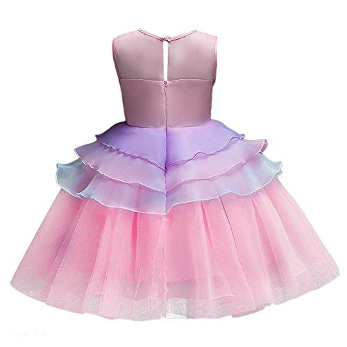 super economico rispetto a prezzi economici nuovi arrivi Costume da Principessa Unicorno per Bimba con Vestito Lungo ...