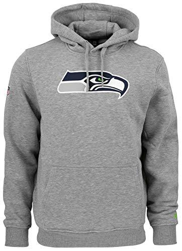 New Era - NFL Seattle Seahawks Team Logo Hoodie - Grau Größe M Eagle Herren Hoodie