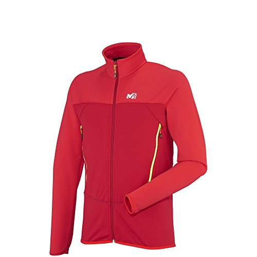 Millet Technostretch J Herren Thermojacke Rot