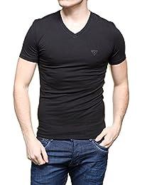 Guess - T Shirt M64i54 - J1300 A996 Noir