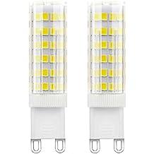 1819 Bombillas LED G9 5W Blanco Frío 450LM Equivalentes a Lámparas Halógenas de 50W AC 220