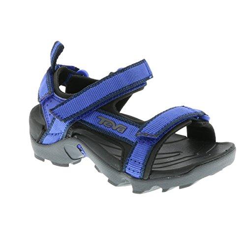 Teva Tanza C's Unisex-Kinder Sport- & Outdoor Sandalen blau - schwarz
