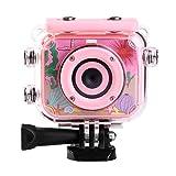 heling 1080P Kinderkamera mit Photo Frame Kamera wasserdicht stoßfest c