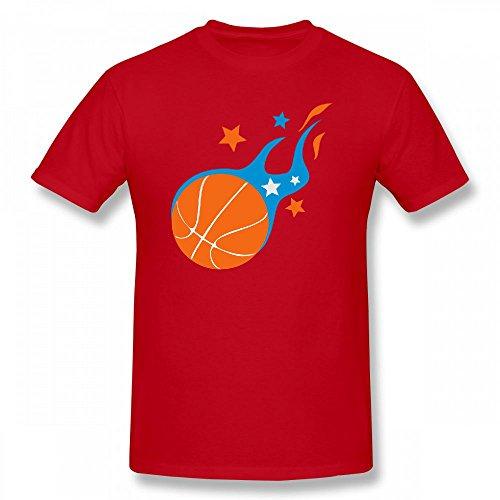 qingdaodeyangguo Custom Mens Short T Shirt - Design Basketball Tee (T-shirts Custom Basketball)
