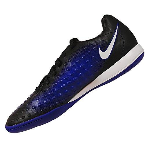 Nike Unisex-Kinder Magista X Opus Ii Ic Fußballschuhe Blau (Black/Paramount Blue/Blue Tint/White)