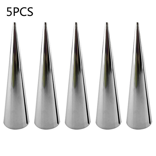 Cake Mold - Diy 5pcs Baking Cones Stainless Steel Spiral Baked Croissants Tubes Horn Pastry Roll Cake Mold - Cross Decorative Mermaid Hammer Giraffe Shape Police Different Easter Cooker Microwav Easter Bunny Cake Pan