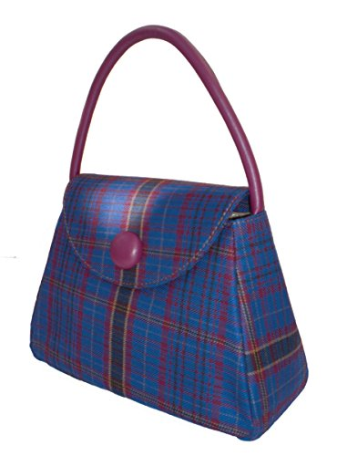 Harris Tweed o da borsetta, fantasia Tartan, taglia S James Welsh Tartan