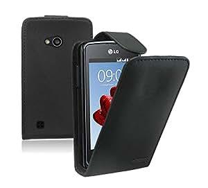 Membrane - Noir Etui Coque LG L50 (Sporty D213N) - Flip Case Cover Housse